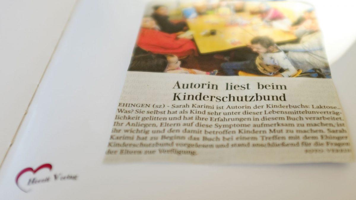 Sarah Karimi - Lesung - Kinderschutzbund