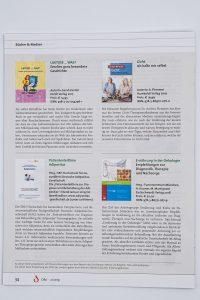 Buchempfehlung im Magazin VDD Verband der Diätassistenten – Deutscher Bundesverband E.V., Ausgabe 2/2019, Seite 34